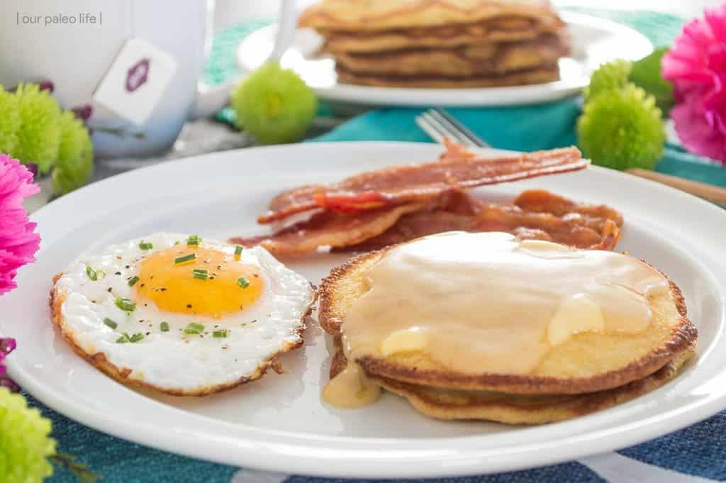 Keto Coconut Pancakes Recipe