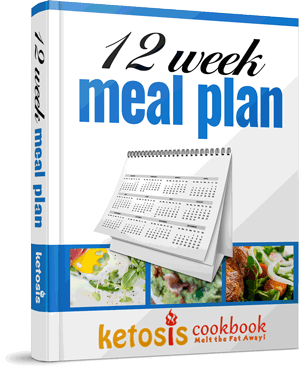 12 week meal plan's mockup
