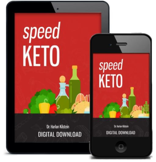 It's an illustration that tells that the products are digital. The picture containes the main book from the speed keto family, and displayes it on an iphone and ipad.